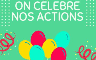 C'est l'heure de la célébration avant les fêtes – 3ème et 4ème