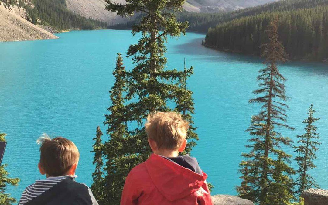 Faire de l'écologie en voyage avec des enfants