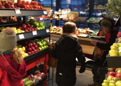 enquête à l'épicerie
