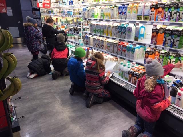 Enquête à l'épicerie – 4e